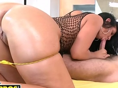 BANGBROS - Latina MILF Madison Rose'_s Ass Is Really This Big! WATCH NOW.
