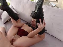 Anal Gal Zelda Morrison Receives group-fucked