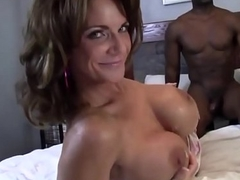Mature Old woman Deauxma &amp_ Ashlee Chambers Share Big Black Cock!