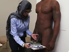 After shower arab hottie acquires nailed