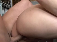 Cocksucking stepmom screwed in put emphasize kitchen