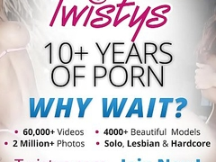 Twistys - (Barbie White) starring at My Little Affiliate