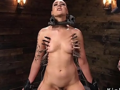 Attendant gets shaved with the addition of clamped