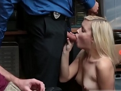 Blonde russian loves strangers big cock Suspect and accomplice were