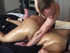 20 yo Oriental Inexpert gf CHOKED Squirts Big Ass Unadulterated Kneading Singapore Hotel