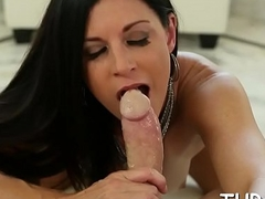 Arousing and juicy oral-stimulation