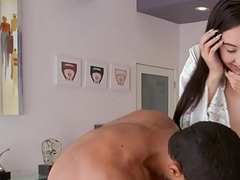 Smalltit Japanese babe acquires feature jizzed