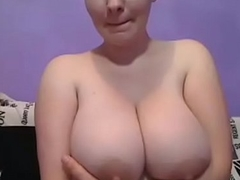Sexy unspecified live shows off her successfully boobs wow