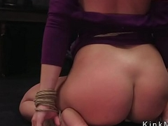 Blackness slave spanked and fucked