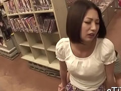 Milk shakes fondle and fingering for asian