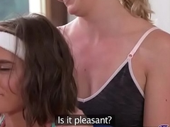 Lesbian workout for big bowels cutie(Anabelle Lili &amp_ Victoria Pure) 01 vid-08